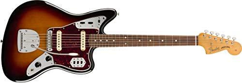 Fender Jaguar Bass Sunburst - Fender Vintera '60s Jaguar - Pau Ferro Fingerboard - 3-Color Sunburst