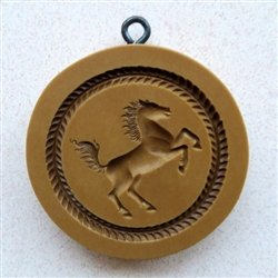 Rearing Horse springerle cookie mold