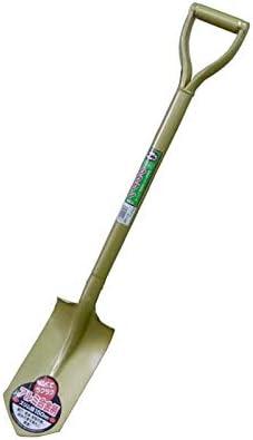 【6丁】 アルミ合金柄 ラクワンショベル スリム丸 全長960mm SAPRSU シャベル スコップ トンボ 高KD
