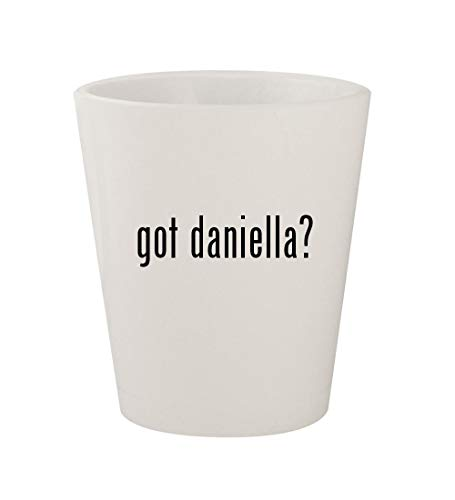 - got daniella? - Ceramic White 1.5oz Shot Glass