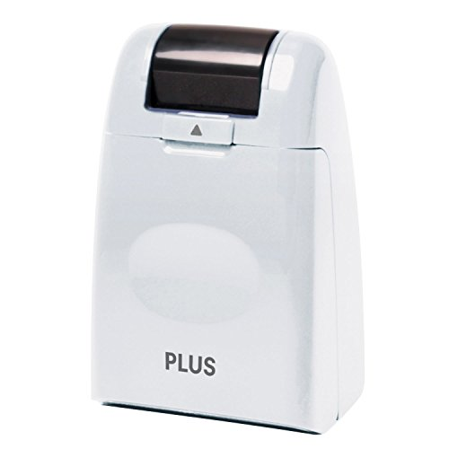 Plus Guard Your Id Roller Stamp, White