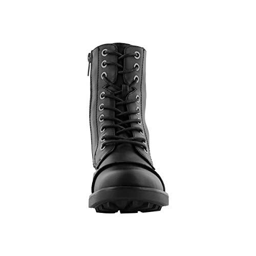 SoftMoc Girls' Tegan Lace Up Combat Boot