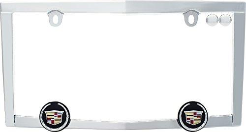 cruiser-accessories-10330-chrome-cadillac-license-plate-frame