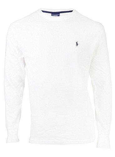 Polo Ralph Lauren Men's Thermal Waffle-Knit Sleep/Lounge Shirt (Large) ()