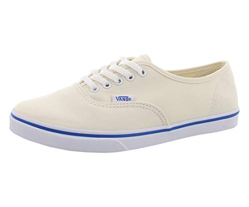 Vans Unisex Authentic Lo Pro White/True White Skate Shoe 4 Men US / 5.5 Women US (Vans Cream Shoes)