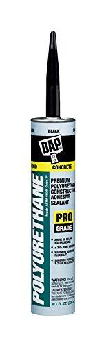Dap 18816 12 Pack 10.1 oz. Premium Polyurethane Construction Adhesive Sealant, Black