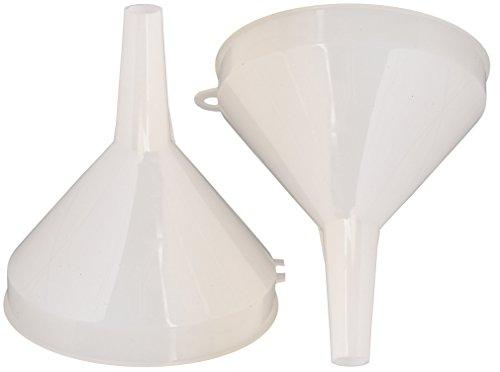 Winco - PF-8 Plastic Funnel, (4-Inch Diameter) (2-Pack)