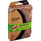 3M-Commercial Tape Div 97223CT Greener Clean Non-Scratch Scour Pad