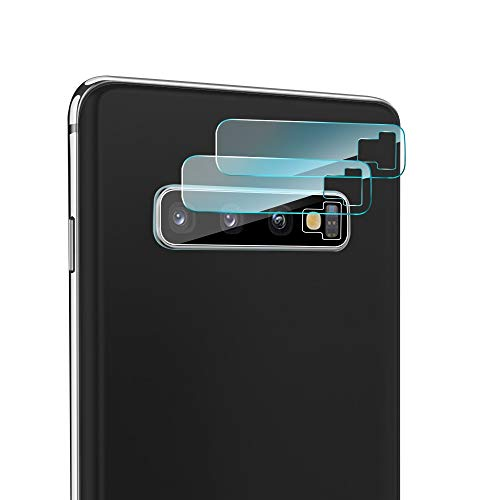 S10 Camera - iAnder [3-Pack] Camera Lens Screen Protector Compatible Galaxy S10 Plus/S10 - Tempered Glass Camera Lens Screen Protector [9H Hardness] [Crystal Clear] [No-Bubble]