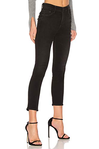 (Citizens of Humanity Rocket Sculpt High-Rise Skinny Cropped Black Jeans, Nightfall 28)