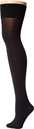 Pretty Polly Women's Opaque Hold Ups Black Pantyhose (Pretty Polly Sheer)