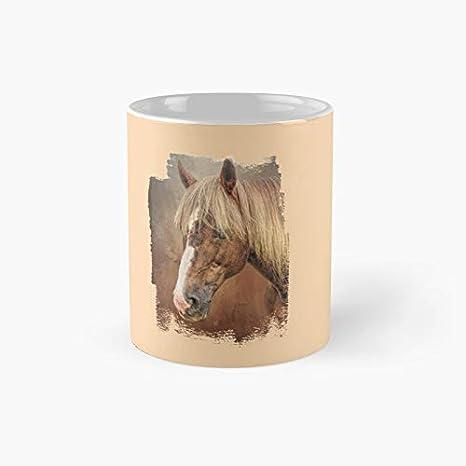 Taza clásica con diseño de caballo de Criollo | El mejor regalo divertidas tazas de café de 325 ml