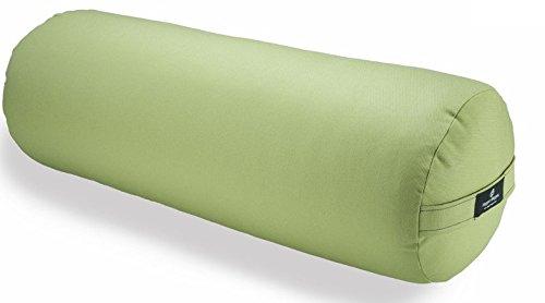 Hugger Mugger Round Yoga Bolster (Celery)