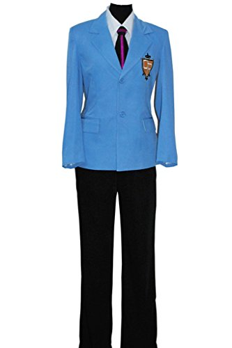 CosplayNow Ouran High School Host Club Cosplay Costume Blue Male (Host Club Cosplay Costumes)