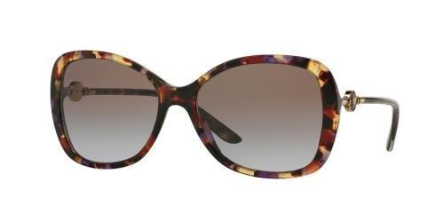 07c81571e1537 Versace Women s VE4303 Havana Transparent Violet Violet Gradient Brown  Sunglasses