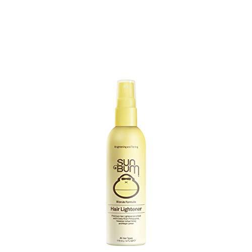 Sun Bum Blonde Hair Lightener, Hair Highlighting Spray, Paraben Free, Gluten Free, 4 oz Spray Bottle, 1 - Spray Honey Blonde Hair
