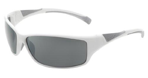 - Bolle Speed Sunglasses, Polarized TNS Gun AF, Shiny White/Silver