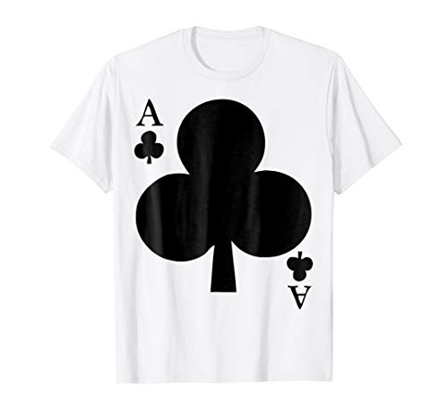 Deck Of Cards Halloween Costume Ace Of Clubs Matching Friend ()
