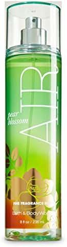 Bath and Body Works Pear Blossom Air Fine Fragrance Mist 8 Ounce Full Size Retired Fragrance Spray