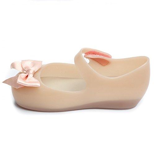 Nude Shoes Bow Mini Melissa Silk Ultragirl naxXfwqd