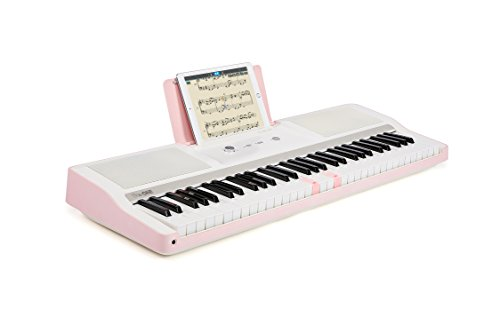 smart piano keyboard 61 key portable light digital piano keyboard electronic keyboard music led. Black Bedroom Furniture Sets. Home Design Ideas