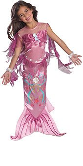 [Toddler Pink Mermaid Costume - 2T-4T] (Original Toddler Halloween Costumes)