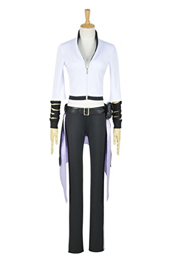 CosplayNow RWBY Season 2 Blake Belladonna Cosplay Costume Uniform White (Blake Belladonna Costume)