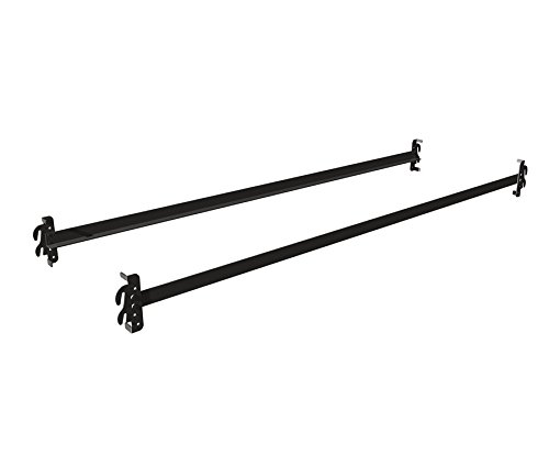 True Choice Stores Heavy Duty Steel Hook On Bed Rails (83'' XL Length) For Twin XL. Full XL And Cal King