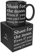 Quotable Good Friends Are Like Stars - Old Saying Mug 14oz
