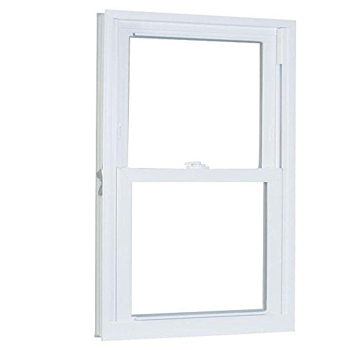 American Craftsman 27.75 in. x 53.25 in. 70 Series Pro Double Hung White Vinyl Window