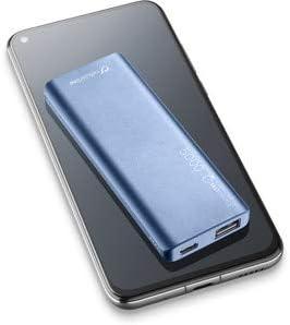 cellularline FreePower Slim 5000 batería Externa Azul Polímero de Litio 5000 mAh: Amazon.es: Electrónica