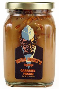 Uncle Denny's Caramel Pecan Gourmet Ice Cream -