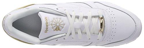 Donna Rose Ginnastica Gold da Bs9878 Scarpe Reebok Basse Bianco White RwOXXq
