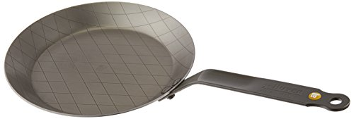 - MINERAL B Round Carbon Steel Steak Fry Pan 9.5-Inch