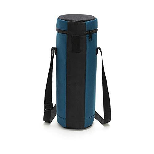 Newhaa Portabottiglie per vino coibentato   Borsa da vino con tracolla, protezione imbottita Borsa da trasporto portatile per frigorifero da viaggio, colore 02 (8L)