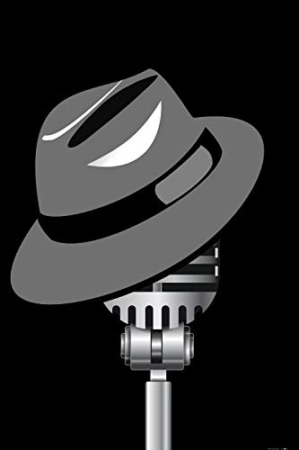 1art1 Posters: Music XXL Poster - Fedora Hat and Microphone (47 x 32 inches)