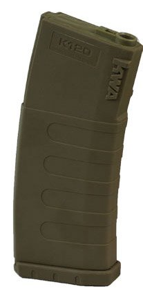 M4 Mid Cap (KWA Airsoft M14/M16 Mid-Cap 120 Rounds Polymer Magazine Dark Earth (1 Piece))