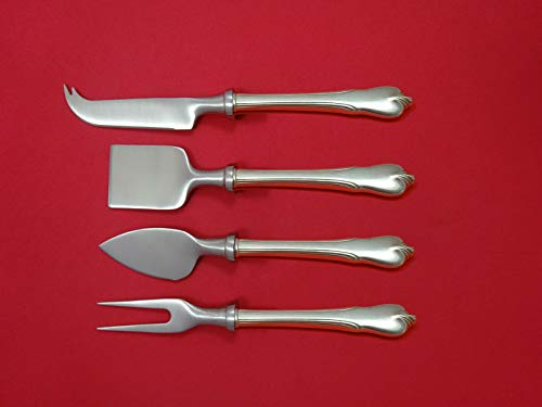 - Grand Colonial by Wallace Sterling Silver Cheese Serving Set 4pc HHWS Custom