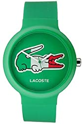 Jacob Time 2020074 Lacoste Goa Unisex Watch, Green Dial