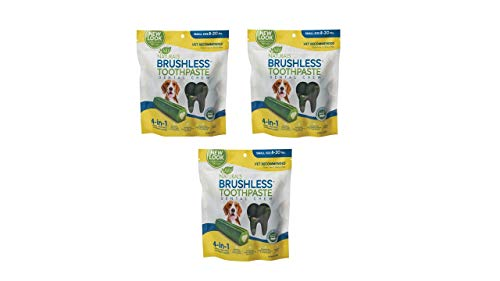 Ark Naturals Brushless Chewable Toothpaste (12 Ounce -Pack of 3)
