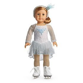 Amazon.com: American Girl Mia's Silver Skate Dress: Toys & Games