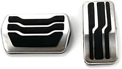 NO-LOGO SHIYM-SHA Coche Acelerador Freno Embrague Resto del Pedal del pie en Forma for el Ford Focus MK2 MK3 MK4 2005-2018 Mondeo Fusi/ón KUGA en Forma for el Mazda 3 en Forma for Lincoln