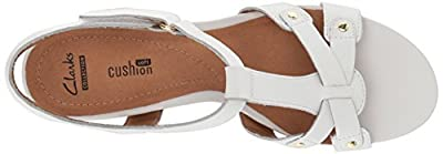 CLARKS Women's Banoy Valtina Dress Sandal