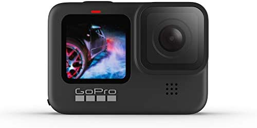 Amazon.com : GoPro HERO9 Black - Waterproof Action Camera with Front LCD  and Touch Rear Screens, 5K Ultra HD Video, 20MP Photos, 1080p Live  Streaming, Webcam, Stabilization : Camera & Photo