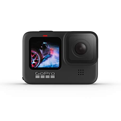 GoPro HERO9 Black – Cámara de acción sumergible con pantalla LCD delantera y pantalla táctil trasera, vídeo 5K Ultra HD…