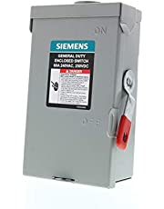 Siemens GNF222RA 2P 60A 240V General Duty Safety Switch Outdoor, Non-Fusible,ANSI 61 Grey