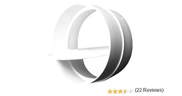 Válvula antirretorno WinFlex PVC para Tubos de Ventilación (100mm): Amazon.es: Bricolaje y herramientas