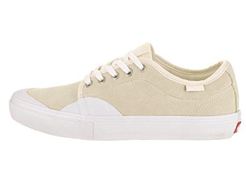 Vans Mens Chukka Low Pro (caoutchouc) Chaussure De Skate Blanc / Blanc