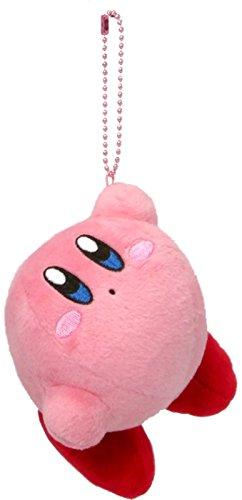 Hanging star Kirby Kirby MC stuffed with ball chain mascot height 8 cm