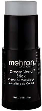 Mehron Makeup CreamBlend Stick (.75 oz) (LIGHT GREY)